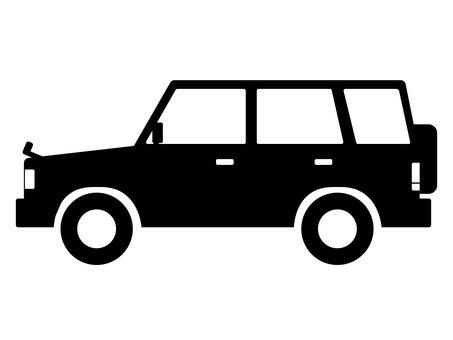 4WD car silhouette