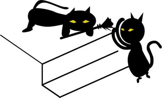 할로윈 고양이 2
