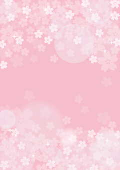 Cherry blossom pattern 2