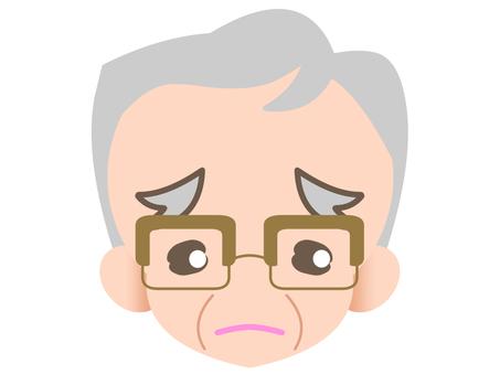 眼鏡祖父 - 悲傷20181122
