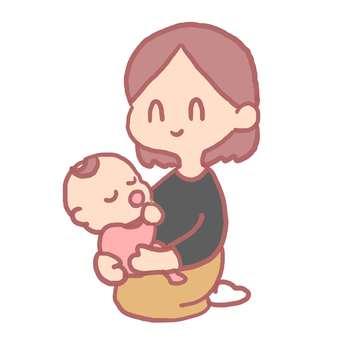 아기와 엄마