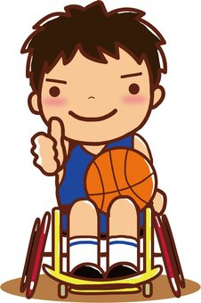 Para sports wheelchair basketball