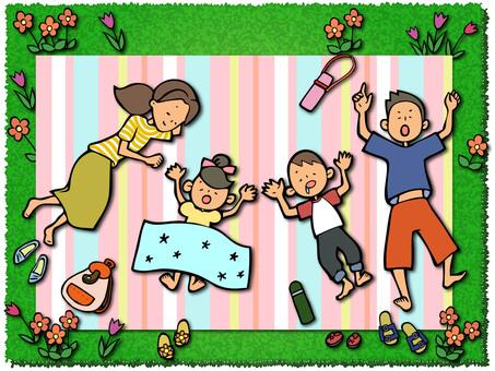 Nap family picnic