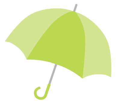 Umbrella 01 green