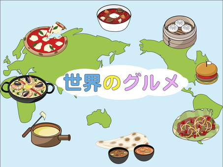 World famous classic dishes