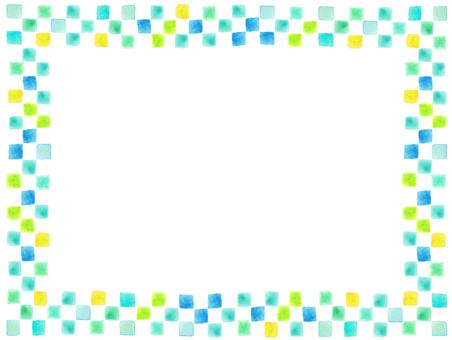 Frame summer color frame
