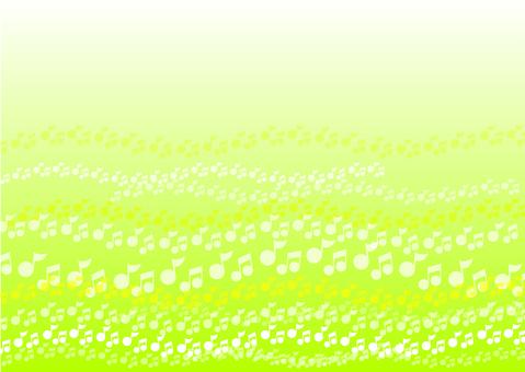 음표의 꽃밭 : green