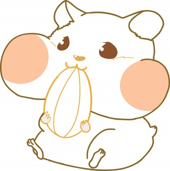 For hamster coloring