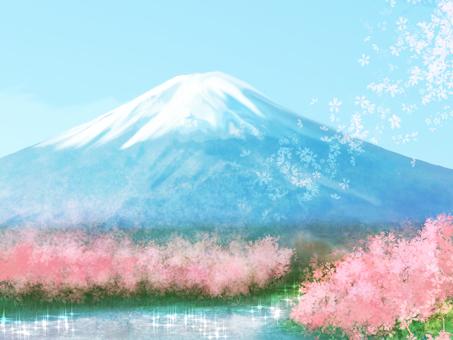 Mount Fuji (Spring)