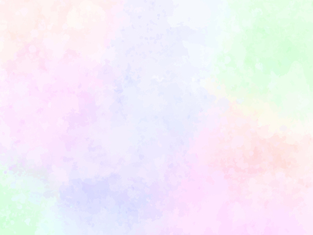 Soft Rainbow Watercolor Background Painting (Purple)