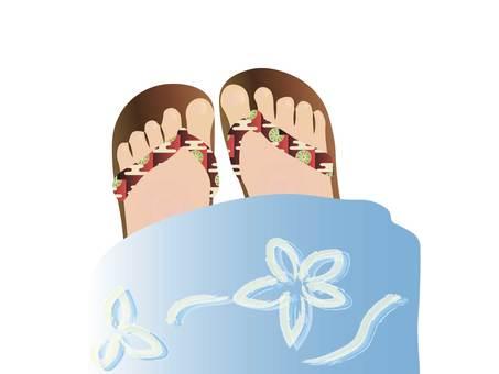 Yukata feet