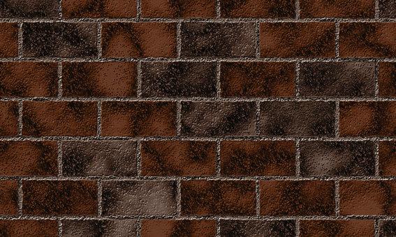 Realistic brick (dark)