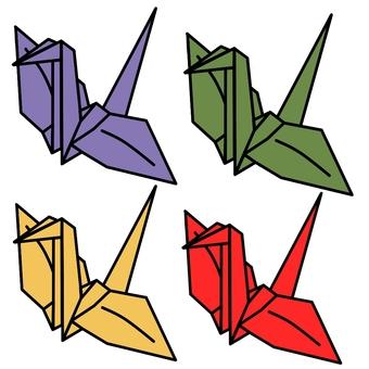 Origami crane ③