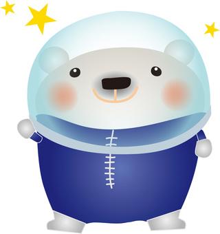 White astronaut 2