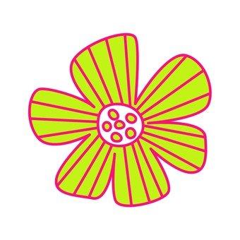 Scandinavian flowers (yellow)
