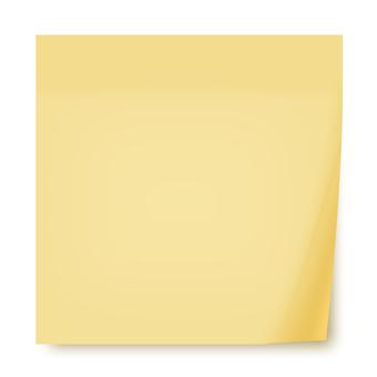 粘滯便箋(黃色