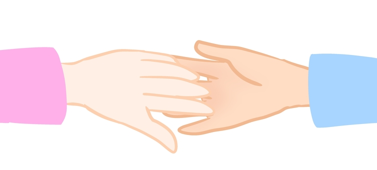 Hands and hands