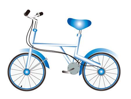 一輛自行車