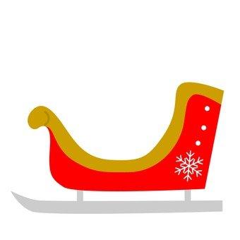 Xe trượt tuyết (màu đỏ)
