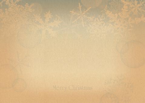 Christmas frame Snow Crystal Blue 3