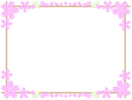 Cherry blossom frame 24