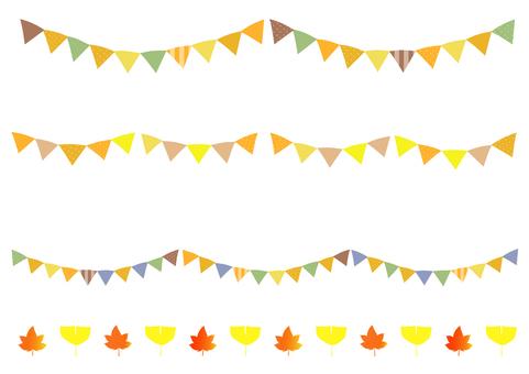 Flag of autumn color