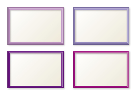 Simple frame purple system