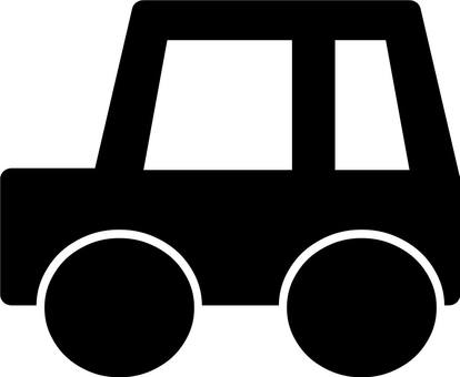 Passenger car silhouette
