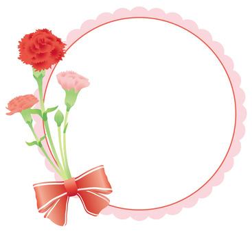 Carnation frame 04