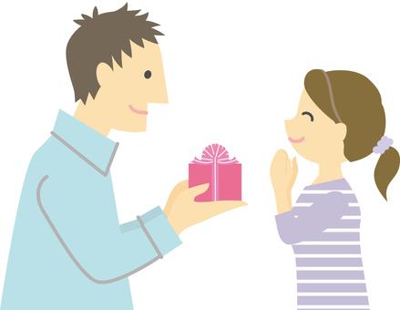 애인에게 선물