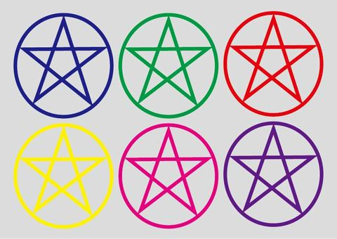 Pentagram set