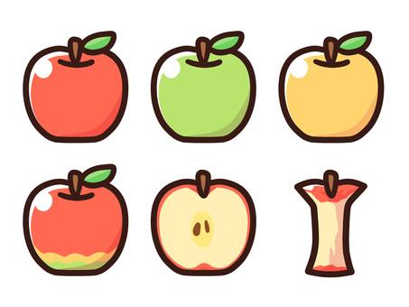 リンゴと梨セット