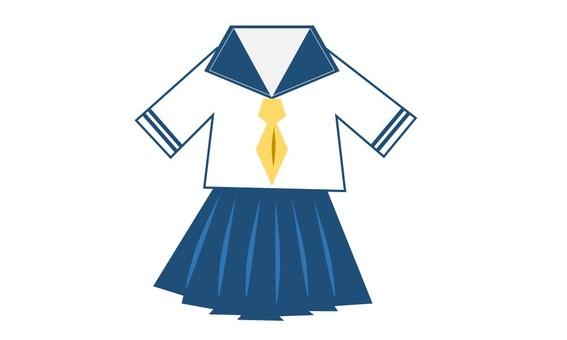 Sailor suit Blue