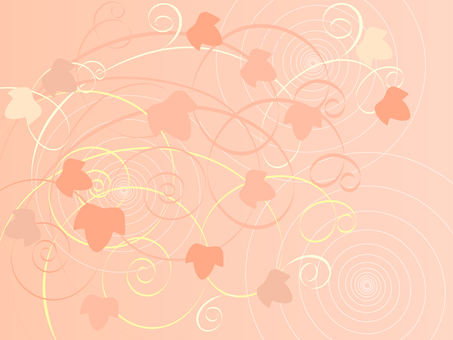 Pink ivy pattern