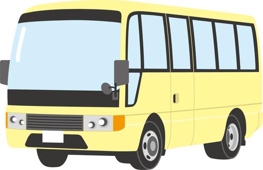 Microbus A (light yellow