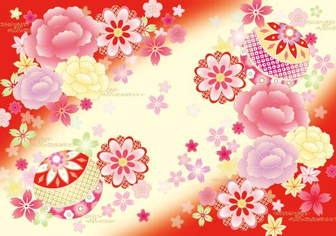 Botton kimono pattern 3