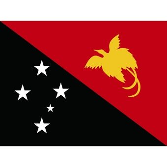 Flag of Papua New Guinea