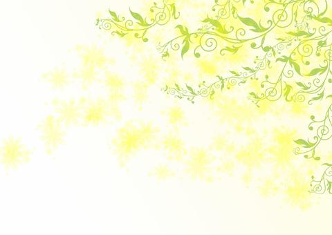 Yellow flower background 2