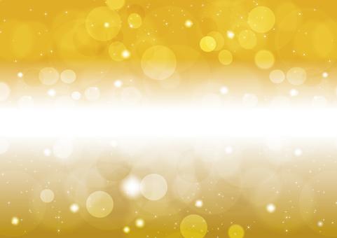 Gold sparkling 7