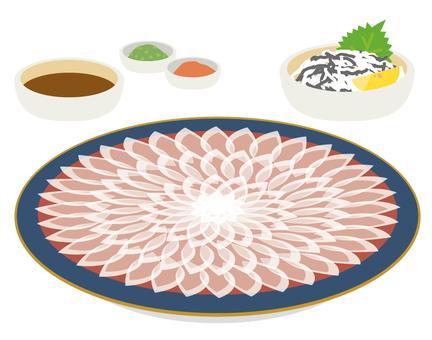 Fugu fukushi stab