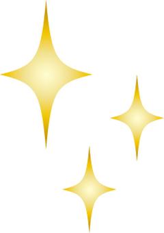 Glitter of gold