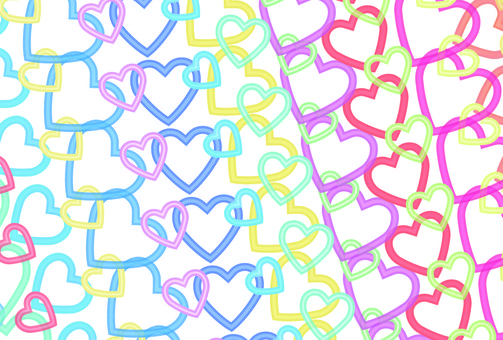 Textured heart cut heart