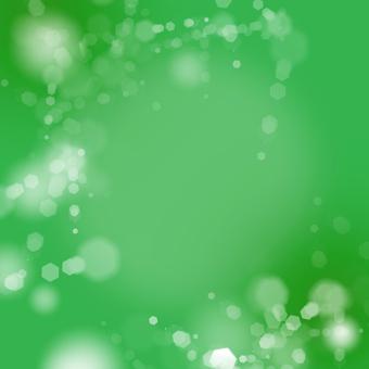 "Glittering background ""Green"""