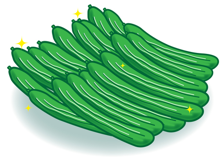 Full of cucumbers!
