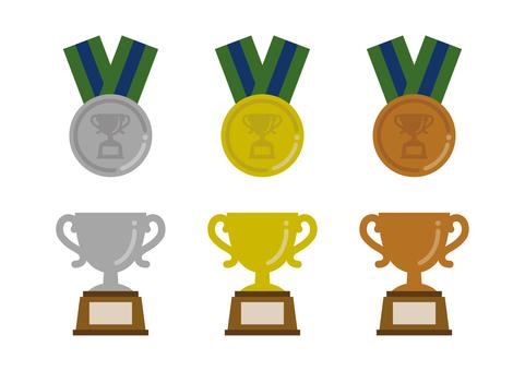 2001 트로피 · 메달