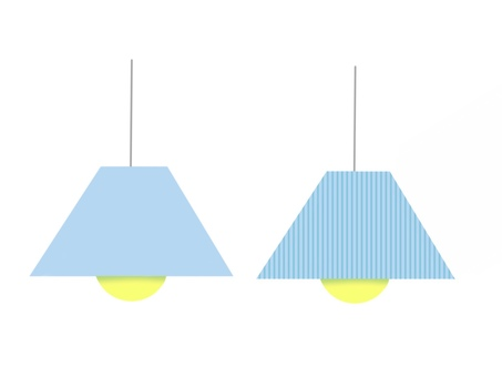 Pendant light Blue