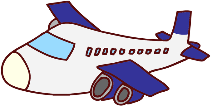 Airplane illustration 3