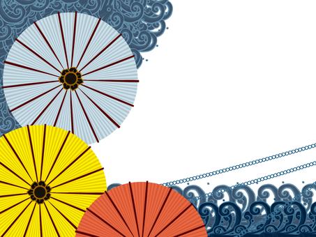 Umbrella frame 1