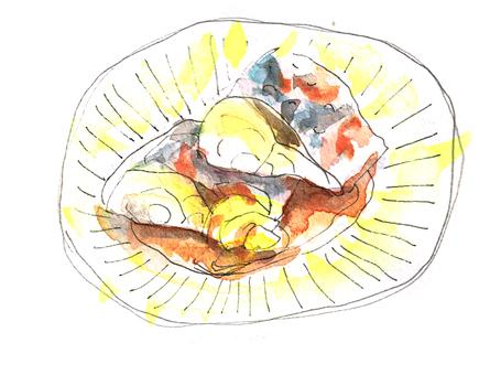 Simmered mackerel with mackerel