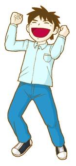 Guts pose! 01
